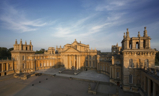 Blenheim Palace is designated a Grade I listed building