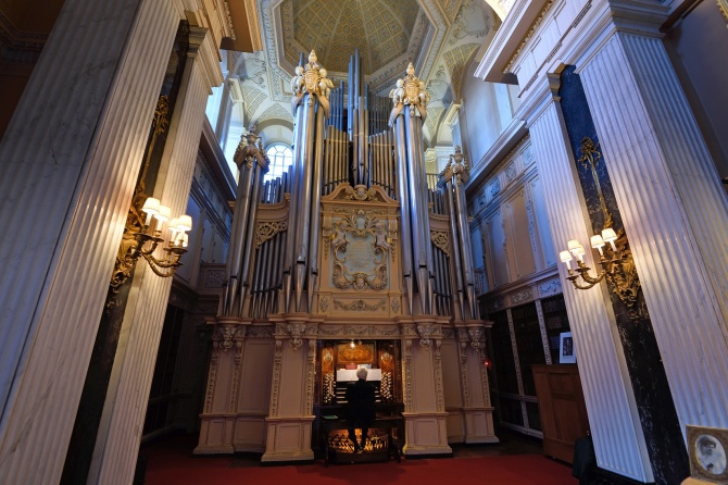 The Willis Organ is built